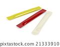 Mustard, ketchup and mayonnaise sachets 21333910