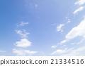 藍天天空雲彩春天天空背景材料3月 21334516