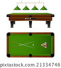 Pool Billiard Table And Furniture Set 21334746
