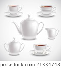 Realistic Tea Set 21334748