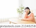 憂鬱的中年婦女 21340258