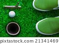 golf coursegolf course 21341469