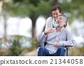 老年人護理的形象 21344058