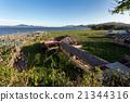 Fish farm at Lake Tondano 21344316