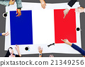 France Country Flag Nationality Culture Liberty Concept 21349256