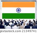 India Flag Patriotism Indian Pride Unity Concept 21349741