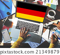 Germany Country Flag Nationality Culture Liberty Concept 21349879