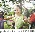 Child Children Childhood Hula Hoop Hooping Kids Concept 21351186