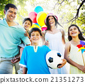 Family Happiness Parents Holiday Vacation Activity Concept 21351273