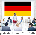 Germany Country Flag Nationality Culture Liberty Concept 21352587