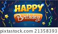 Greeting card Happy Birthday 21358393
