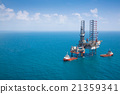 Offshore oil rig drilling platform 21359341
