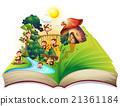 起居室 河 书籍 21361184