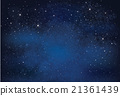 Vector night  sky. 21361439