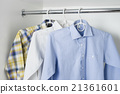 clean ironed men's shirts 21361601