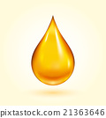 Golden Oil Drop 21363646