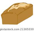 파운드 케이크 일러스트 21365030