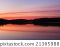 고요한, 평화로운, 호수 21365988