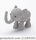 粘土 橡皮泥 大象 21369391
