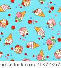 冰淇淋 乳製品 紡織品 21372367