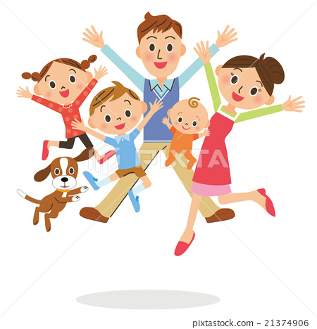 Jumping family 21374906