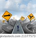 Businessman Forward Path 21377573