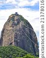 Famous Sugar Loaf mountain in Rio de Janeiro 21378016