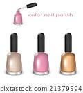 nail, polish, vector 21379594