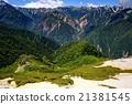 北阿尔卑斯 津波黒山 登山者 21381545