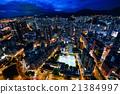 夜景 香港 高層建築 21384997