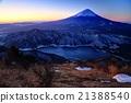 富士山 冬天 冬 21388540