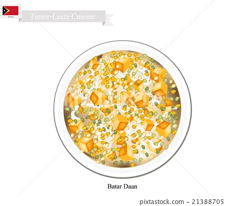 Batar Daan or Traditional Timor-Leste Corn Soup 21388705
