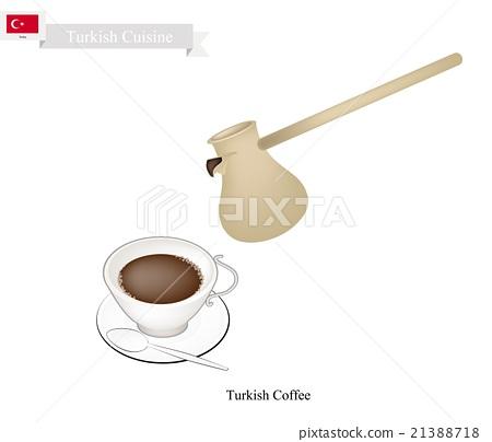 Traditional Turkish Coffee, Popular Drink Turkey 21388718