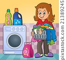 Laundry theme image 2 21389245