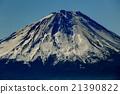从Misaka山/ Okutake看到的富士山山顶 21390822