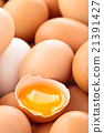 Fresh eggs background. 21391427
