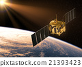 Satellite In The Rays Of Sun 21393423
