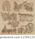 Architecture - hand drawn vector pack 21394110