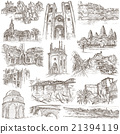 Architecture - Freehand sketching, pack 21394119