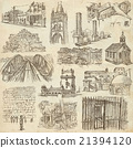Architecture - Freehand sketching, pack 21394120