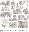 Architecture - Freehand sketching, pack 21394121