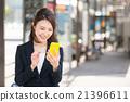 女性 行動電話 iphone 21396611
