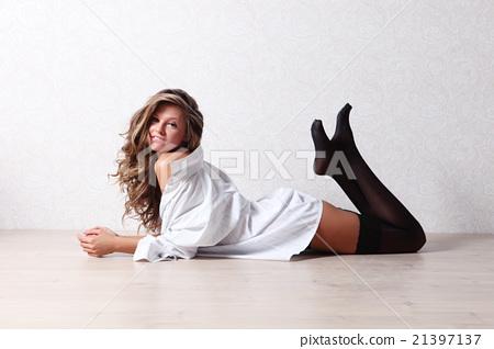 Pretty Girl In Stockings