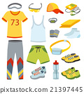vector, clothing, sport 21397445