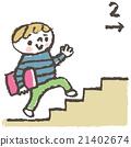 사람, 유아, 계단 21402674