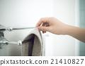 浴巾 拿 拍 21410827