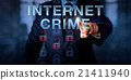 White Collar Hacker Pushing INTERNET CRIME 21411940