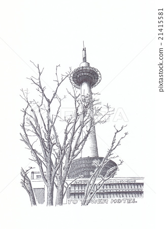 Kyoto Tower 21415581