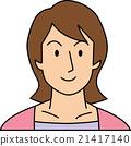 她30歲的微笑的女人 21417140