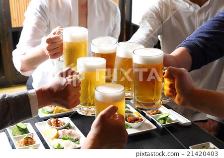 生啤酒敬酒 21420403